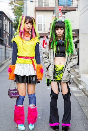 Harajuku Cyber Style w/ Pen & Lolly, CyberDog, Gas Mask