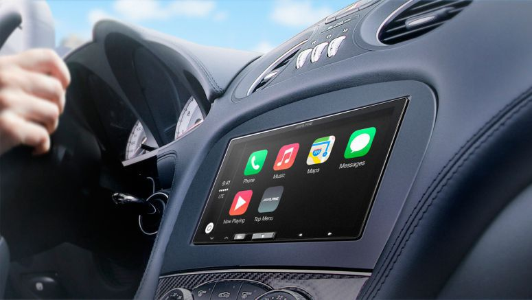 Alpine Electronics In-Dash Receiver with Apple CarPlay Now Shipping