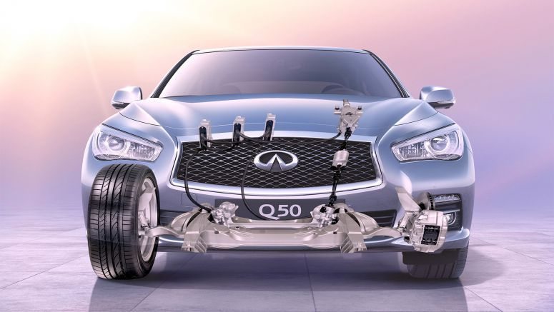 Infiniti commemorates 25 years of first-ever technologies at 2014 L.A. Auto Show