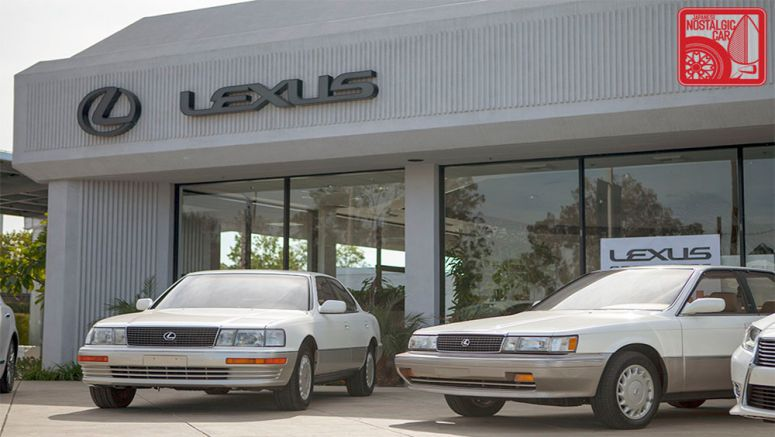 Remembering the First Generation Lexus LS 400