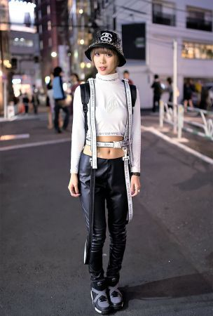 MYOB NYC Harness & Monochrome Fashion