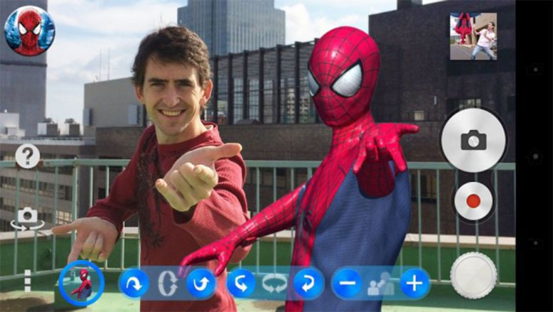 Sony : The Amazing Spider-Man 2 AR effect app launches in selected regions