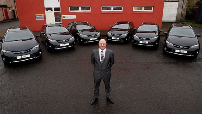 Central Training Services Limited on course for a greener fleet with Toyota Hybrids