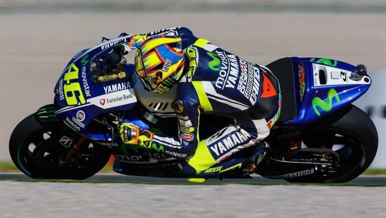 Yamaha MotoGP : First pole for Rossi since Le Mans 2010