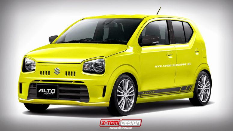Hypothetical Suzuki Alto Sport is a Ultra-Cheap Hot Hatch