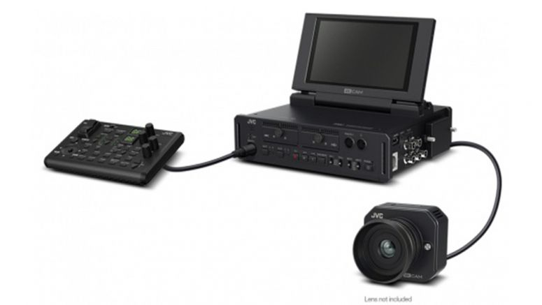 JVC GW-SP100E remote head 4KCAM camera system