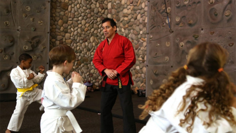 Karate instructor uses eighth-degree black belt to teach life lessons
