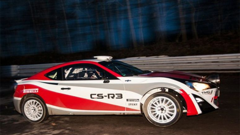 10 things you need to know about the Toyota GT86 CS-R3 rally car