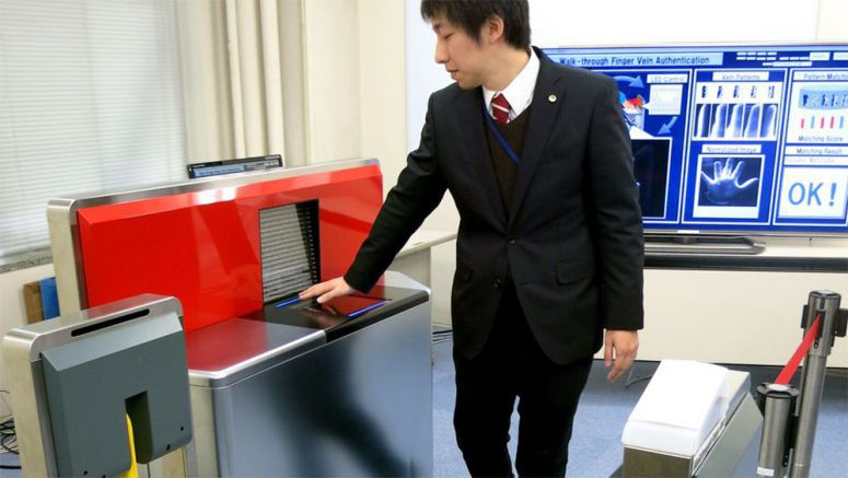 Hitachi unveils finger-scanning device that can screen 70 people per minute