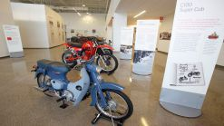 Check out these cool displays from Honda's new Ohio museum