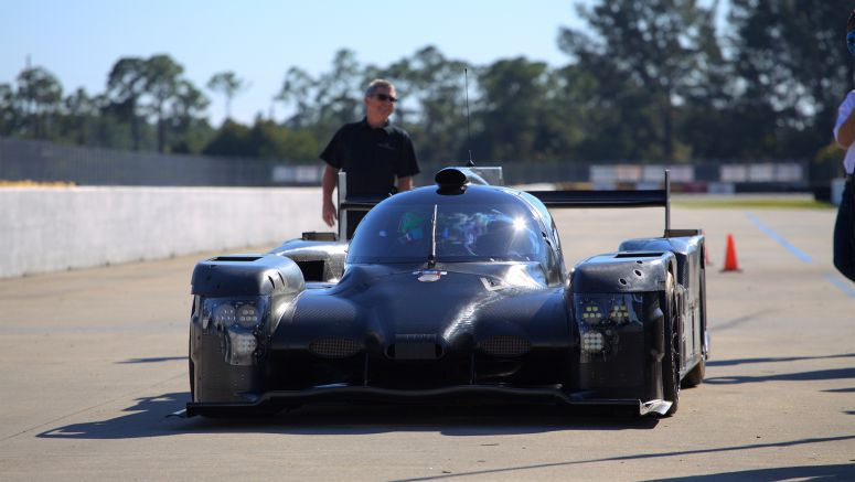 Tequila Patron ESM Runs First Laps in Honda Coupe