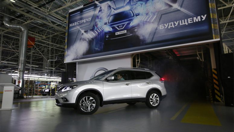 Nissan Starts Building X-Trail SUVs in Russia, Qashqai to Follow