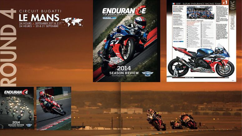 Suzuki : 2014 World Endurance Book On Sale