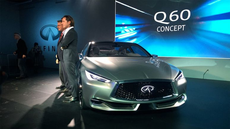 New Photos of Infiniti Q60 Concept