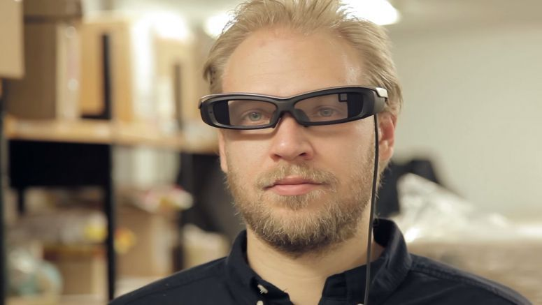 VIDEO : Sony SmartEyeglass inspirational demo by APX Labs