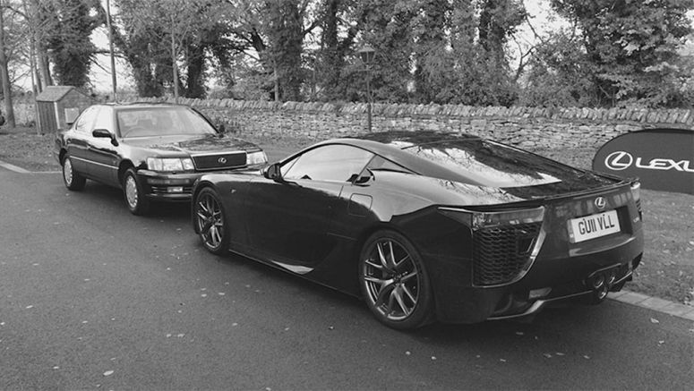 Driving the 1989 Lexus LS 400 and Lexus LFA Back-to-Back