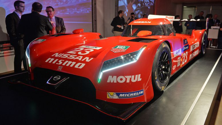 2015 Chicago Auto Show : Nissan GT-R LM Nismo