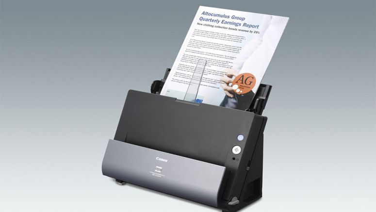 Canon Announces imageFORMULA DR-C225W Office Document Scanner with built-in Wi-Fi