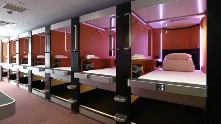 Cozy capsule hotel to cater to taller foreigners at Hokkaido ski resort