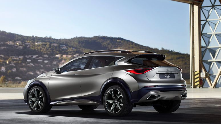 Infiniti : An evening of strength and design in Geneva