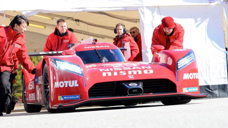Nissan demonstrates GT-R LM Nismo's radical aero