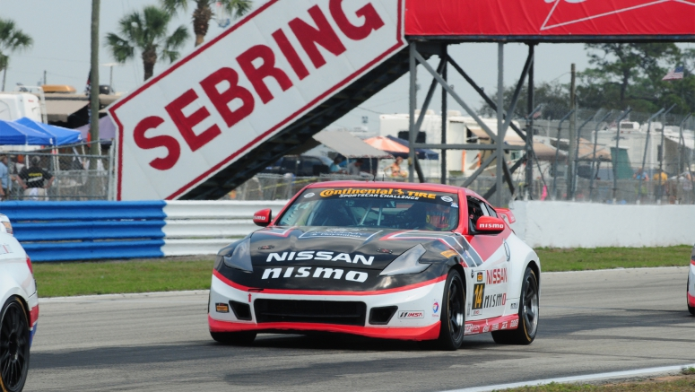 Doran Racing/GT Academy Nissan 370Z NISMOs take strong fifth and sixth places at Sebring CTSCC race