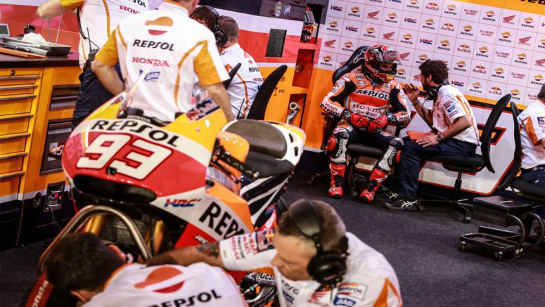 Honda MotoGP : Marquez lays down the gauntlet to rivals in Qatar 2015