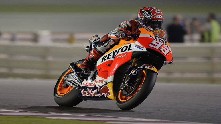 Honda MotoGP : Marquez sets fastest ever recorded speed 350.3kph (217.66mph)
