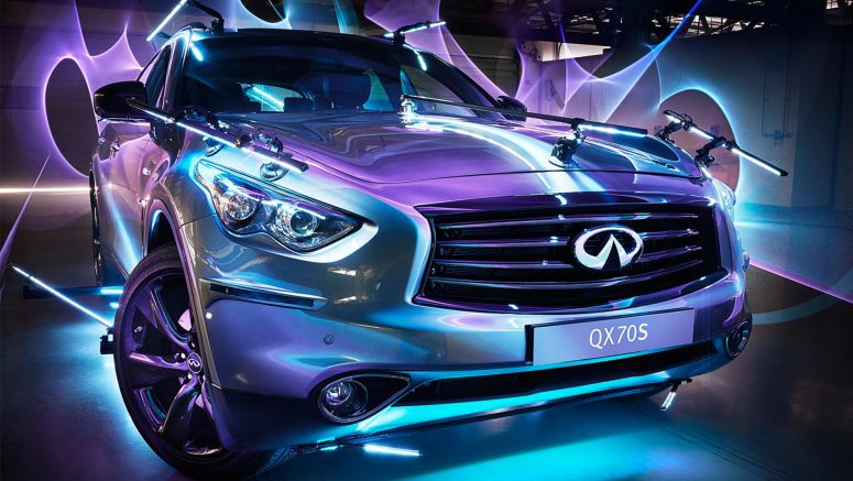 "Infiniti brings ""Inspired Light"" to Kingdom of Saudi Arabia"