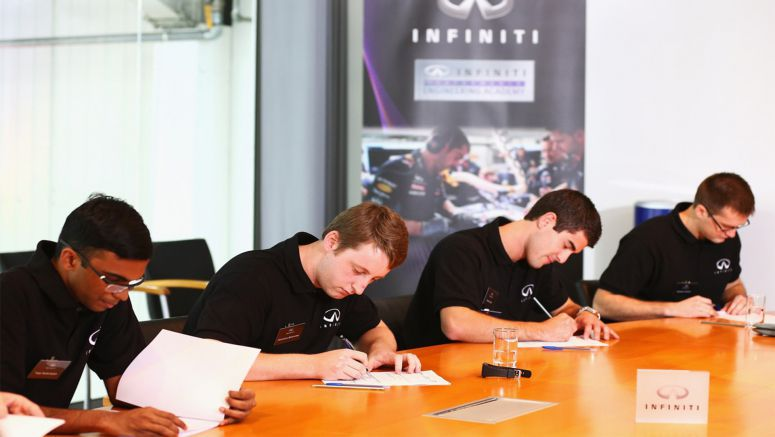 Infiniti offers top engineering students the motorsport career opportunity of a lifetime