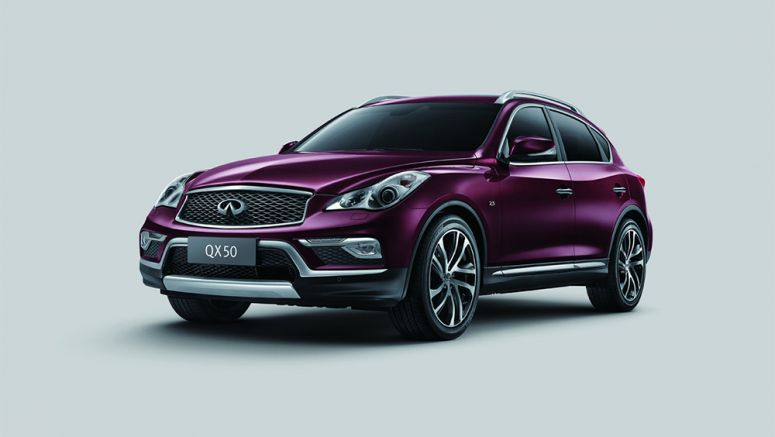 Facelifted 2016 Infiniti QX50 Now Based On China's Long-Wheelbase Version