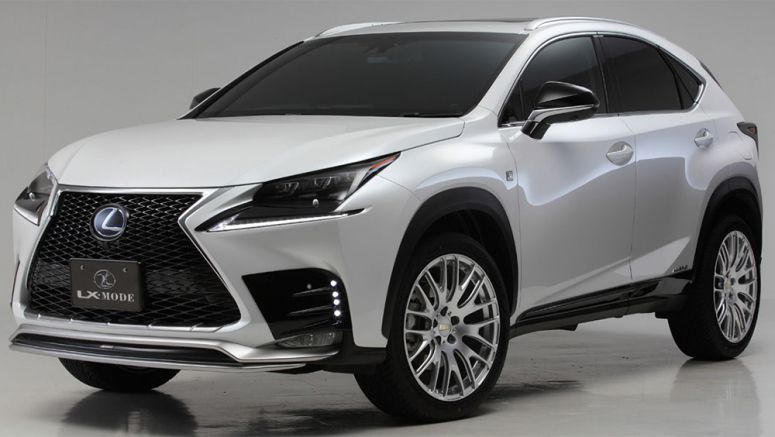 Lexus LX Mode Releases Lexus NX Body Kit