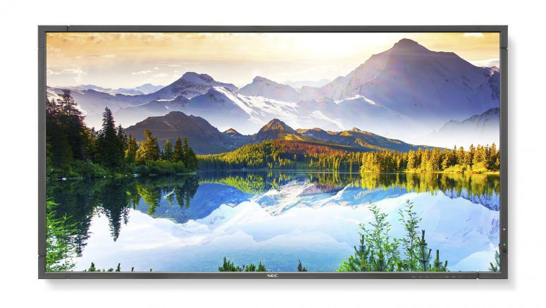 NEC 90-inch MultiSync E905 Display Gives Executives Larger Canvas, More Control For Conferencing