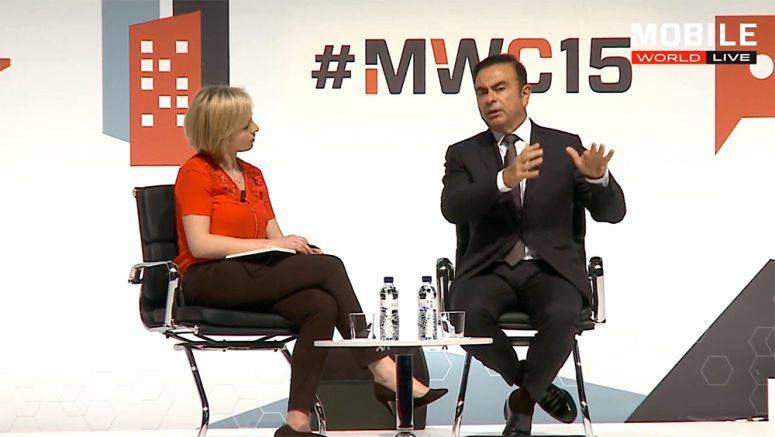 Nissan : Carlos Ghosn not worried about competition from Apple EV