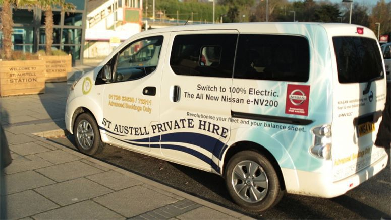 Licence to print money: Taxi firm saves over €79,000 by switching to Nissan electric