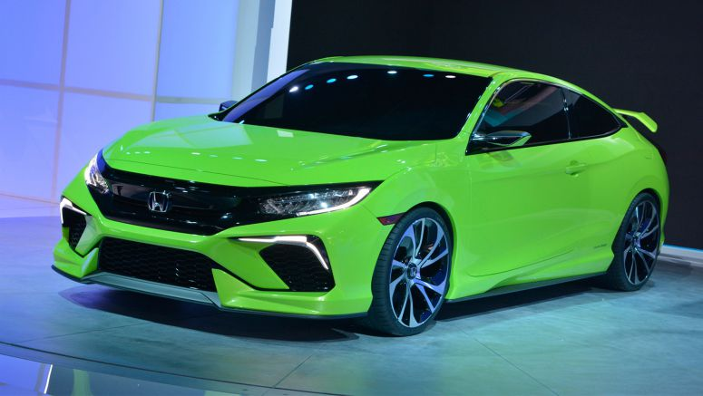 2015 New York Auto Show : Honda Civic Concept