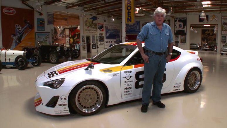 VIDEO : 300hp Supercharged Scion FR-S Visits Jay Leno