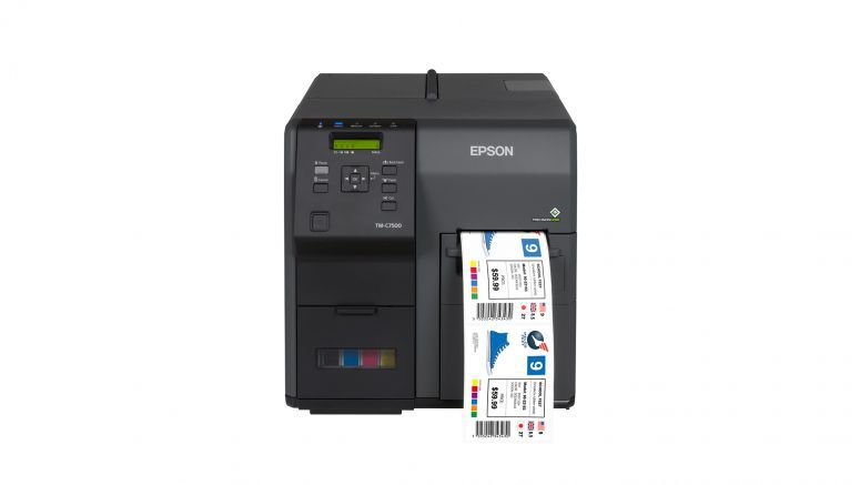 Epson ColorWorks Brings Productivity, Print Quality and Reliability to Color Inkjet Labels