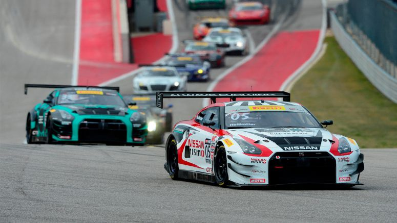 Nissan drivers Heitkotter, Davison ready to conquer Long Beach in the Always Evolving NISMO GT Academy GT-R GT3