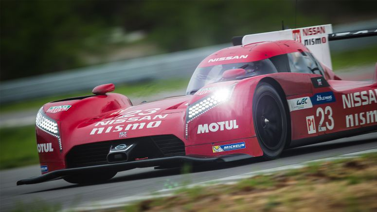 Nissan GT-R LM NISMO completes four-day test in the U.S. in preparation for Le Mans