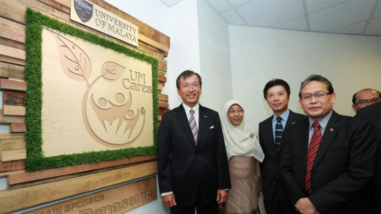 Panasonic : Launch of Malaysian University's First Ever Refurbished Green Office