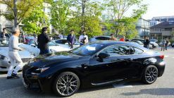 Akio Toyoda & Lexus Chief Engineers Surprise Guests at Cars & Coffee Event in Japan