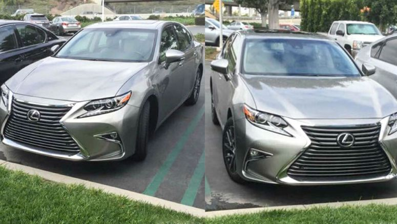 Photo : 2016 Lexus ES 350 in Atomic Silver