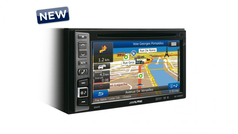 Alpine Advanced Navi Station INE-W990BT