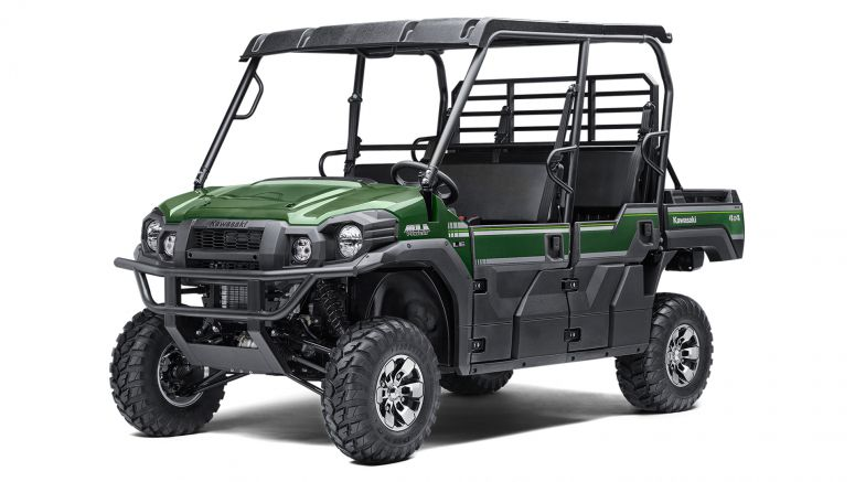 Monster Energy Kawasaki riders get VIP treatment with Kawasaki Mule Trans
