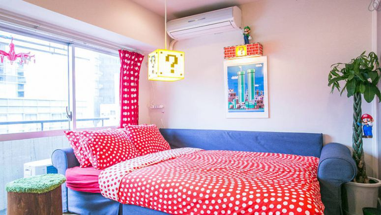 Totally awesome Super Mario themed home available for just $75 a night in Meguro, Japan