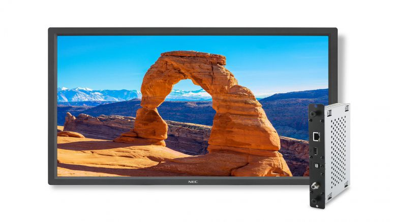 NEC Display Delivers Thinner Bezel, Slimmer Cabinet Depth In New 32-inch V Series Digital Screen
