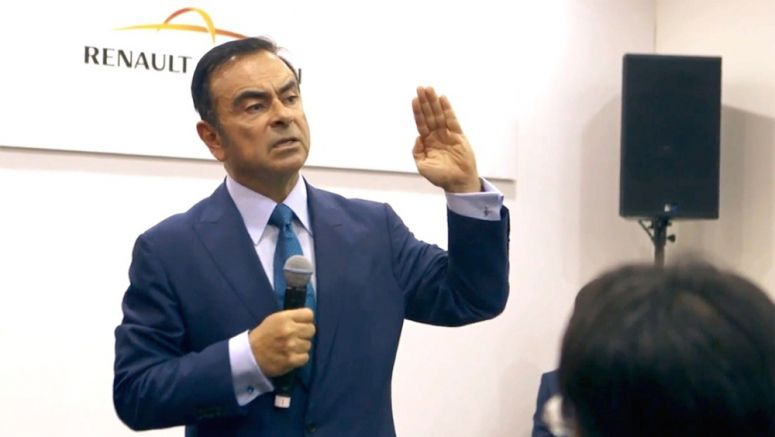 Nissan : Carlos Ghosn hosts media roundtable at Shanghai auto show