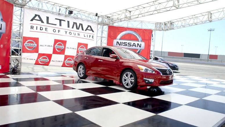 Nissan Ride of Your Life Altima campaign returns bigger and better in second year
