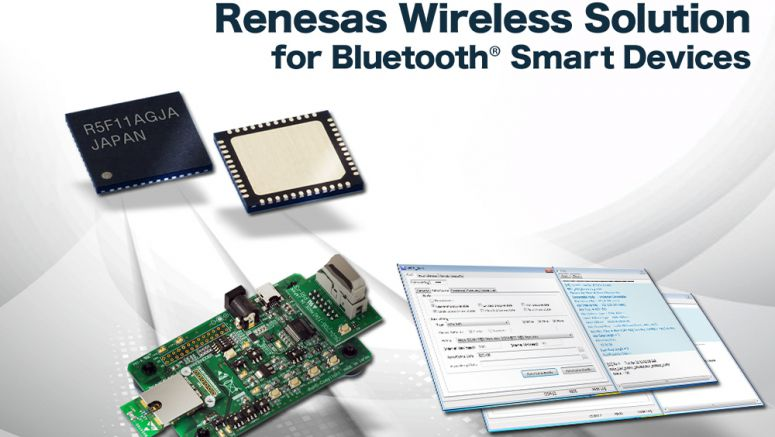 Renesas Electronics Delivers Bluetooth® Smart Wireless Solution to Accelerate Use of Embedded Devices in IoT Applications